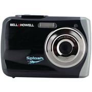 Bell & Howell WP7 Splash 8x Digital Zoom Waterproof Digital Camera, 12 Mega Pixels, Black