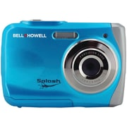 Bell & Howell WP7 Splash 8x Digital Zoom Waterproof Digital Camera, 12 Mega Pixels, Blue