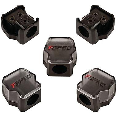 T-Spec V8 Series 2 Position Compact Distribution Block, Black