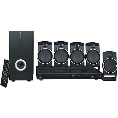 Naxa® ND-859 5.1 Channel DVD Entertainment System With Karaoke, Black