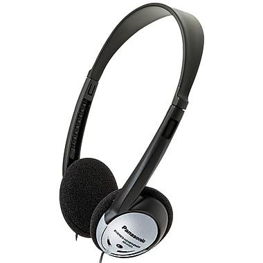Panasonic RP-HT21 Lightweight Headphone with XBS, Silver/Black