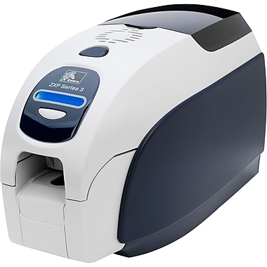 Zebra Zxp Series 3 Single Sided Dye Sublimation/Thermal Transfer Printer, Colour, Desktop, Card Print (Z31-00000200US00)