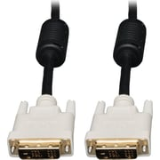 Tripp Lite P561-003 3' DVI-D Single Link Male/Male Monitor Video Cable, Black