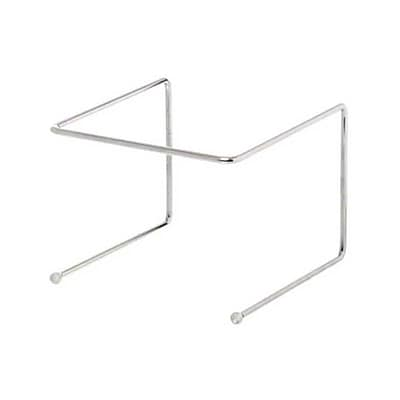 American Metalcraft 190039, Single-Shelf Chrome-Plated Universal Stand