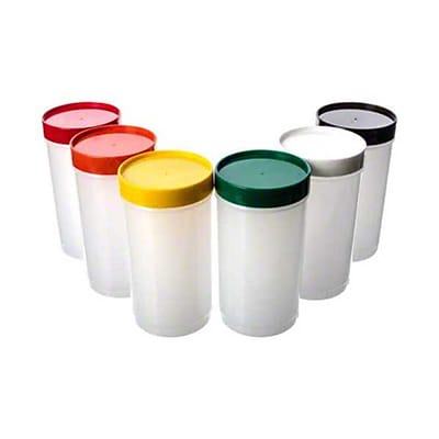 Carlisle PS602N00, 1 qt Plastic Stor N Pour Backup Assortment