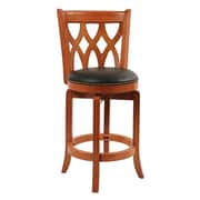 "Boraam Cathedral 24"" Swivel Bar Stool, ES Cherry (40224)"