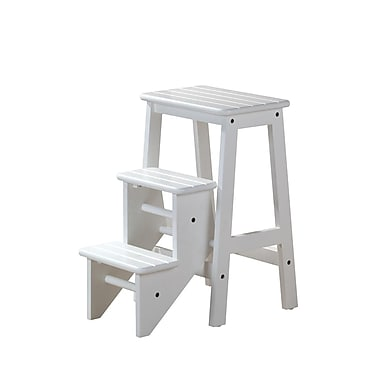 Boraam 24  sc 1 st  Staples : step stool white - islam-shia.org