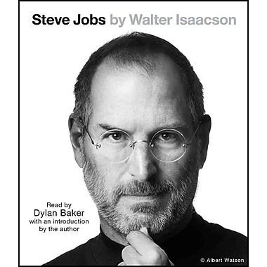 Steve Jobs Audiobook CD Walter Isaacson