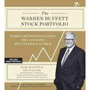 The Warren Buffett Stock Portfolio Mary Buffett , David Clark Audiobook CD