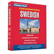 Swedish Conversational Paul Pimsleur  Audiobook, CD