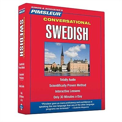 Swedish Conversational Paul Pimsleur Audiobook, CD