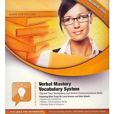 Verbal Mastery Vocabulary System Brian Tracy, Larry Iverson, Nido Qubein Audiobook