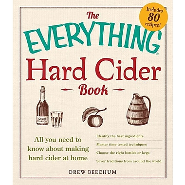 The Everything Hard Cider Book Drew Beechum Paperback
