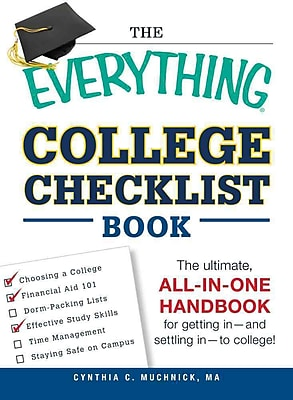 The Everything College Checklist Book Cynthia C. Muchnick Paperback