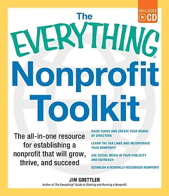 The Everything Nonprofit Toolkit Jim Goettler Paperback