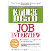 Knock 'em Dead Job Interview Martin Yate Paperback