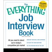 The Everything Job Interview Book Lin Grensing-Pophal SPHR Paperback