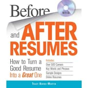 Before and After Resumes Tracy Burns-Martin Paperback