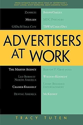 Advertisers at Work Tracy Tuten Paperback