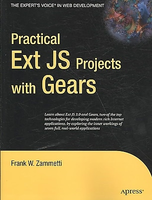 Practical Ext JS Projects With Gears Frank Zammetti Paperback