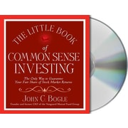 The Little Book Of Common Sense Investing John C. Bogle Audiobook CD