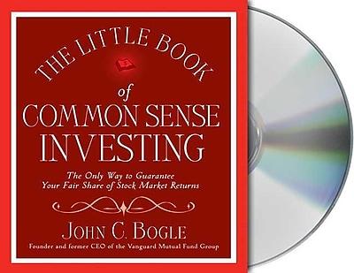 The Little Book Of Common Sense Investing John C. Bogle Audiobook CD
