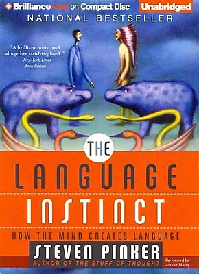 The Language Instinct Steven Pinker Audiobook