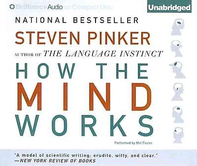 How the Mind Works Steven Pinker CD