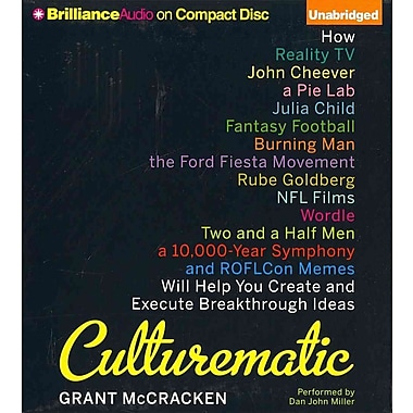 Culturematic CD Grant McCracken