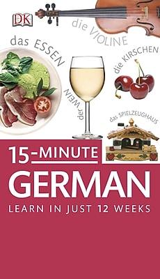15-Minute German (DK 15-Minute) DK Audiobook CD
