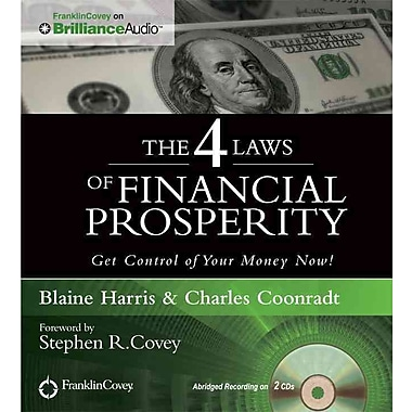 The 4 Laws of Financial Prosperity Blaine Harris, Charles Coonradt CD
