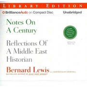 Notes on a Century: Reflections of a Middle East Historian Audiobook CD Bernard Lewis