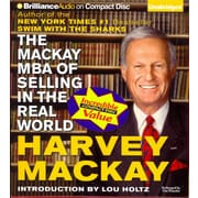 The Mackay MBA of Selling in the Real World Harvey Mackay Audiobook CD