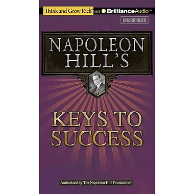 Napoleon Hill's Keys to Success Napoleon Hill CD
