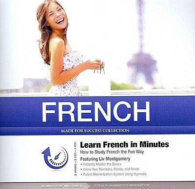 French In Minutes Made for Success , Liv Montgomery CD