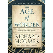 The Age of Wonder Richard Holmes Audiobook CD