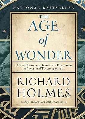 The Age of Wonder Richard Holmes Audiobook CD