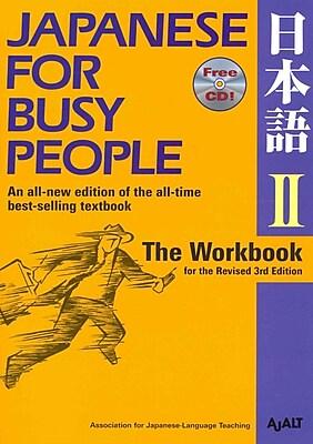 Japanese for Busy People II AJALT Paperback