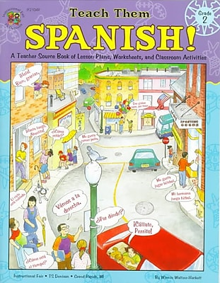 Teach Them Spanish Winnie Waltzer-Hackett Paperback