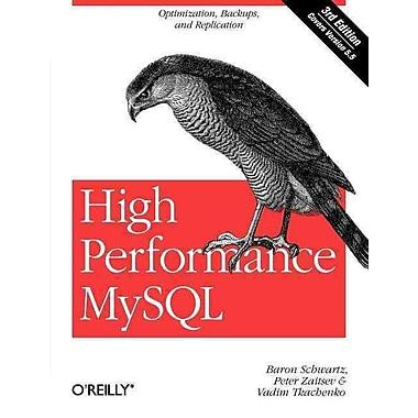 High Performance MySQL Vadim Tkachenko, Peter Zaitsev, Baron Schwartz Paperback
