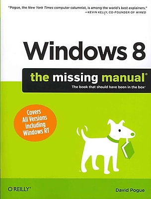 Windows 8 David Pogue The Missing Manual