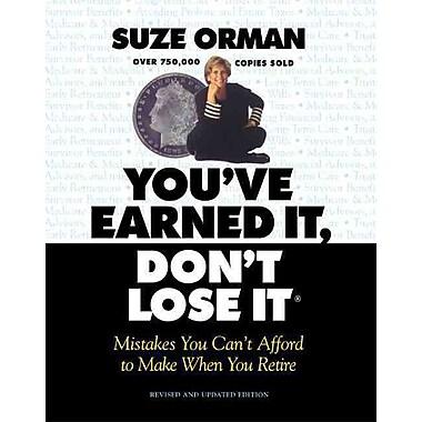You'Ve Earned It, Don't Lose It Suze Orman, Linda Mead Paperback