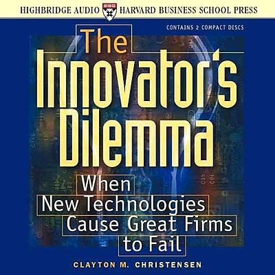 Innovator's Dilemma Clayton M. Christensen CD