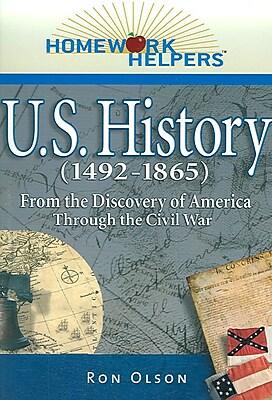 Homework Helpers U.s. History Ron Olson Paperback