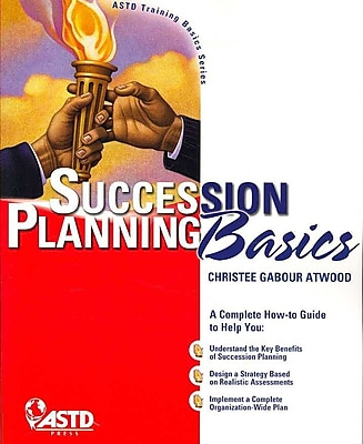 Succession Planning Basics Christee Atwood Paperback
