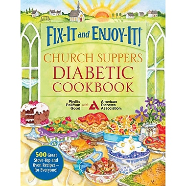Fix-It And Enjoy-It! Church Suppers Diabetic Cookbook Phyllis Pellman Good Spiral-bound