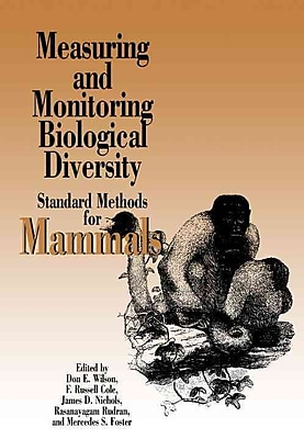 Measuring and Monitoring Biological Diversity Don E. Wilson , F. Russell Cole , James D. Nichils Paperback