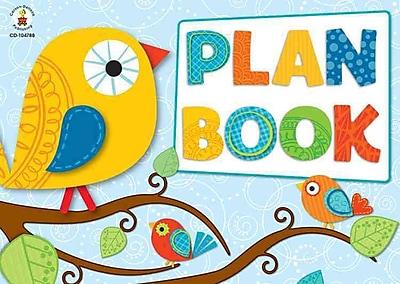 Boho Birds Plan Book Carson-Dellosa Publishing Spiral Bound