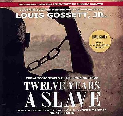 Twelve Years A Slave (Official Movie Tie-In Audio Edition)(LIBRARY EDITION) Solomon Northup