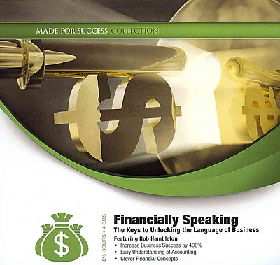 Financially Speaking Rob Hambleton CD